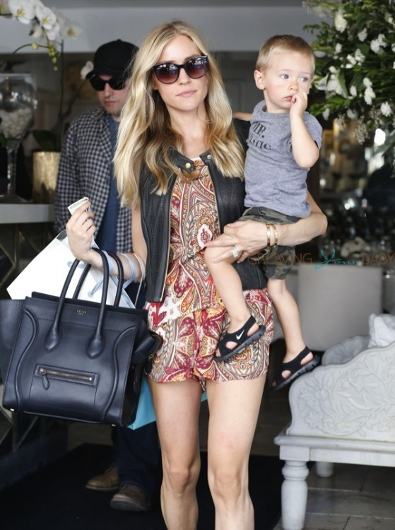Kristin Cavallari steps out with son Camden in LA