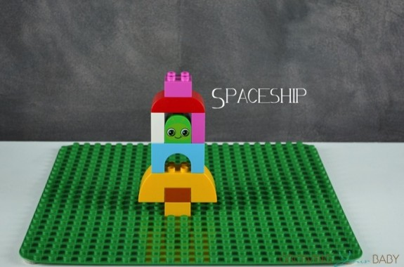 LEGO Duplo's Creative Animals  ~ spaceship
