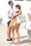Lauren Silverman shops with her son Eric Cowell  in St. Tropez
