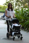 Lauren Silverman with son Eric in Miami
