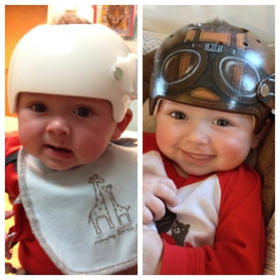 Lazardo Art and the art of baby helmet painting