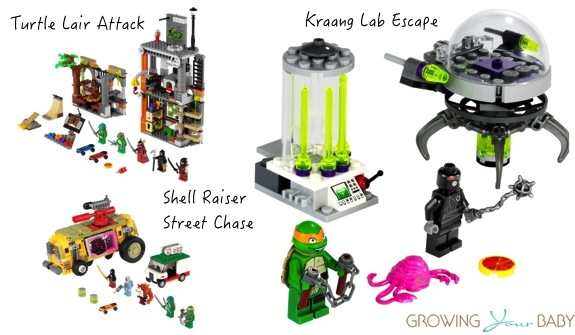 Lego Ninja Turtles sets
