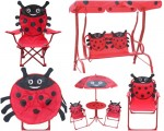 Leisure Ways® Brands Kids Ladybug Outdoor Furniture