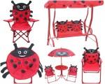 Leisure Ways® Brands Kids Ladybug Outdoor Furniture