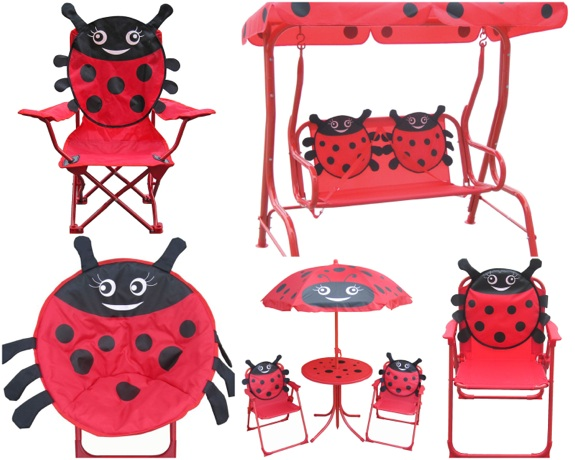 RECALL 14 000 Ladybug themed Kids' Outdoor Furniture Due