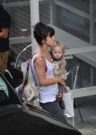 Lily Allen out at ITV with daughter Marnie Cooper
