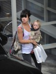 Lily Allen out with daughter Marnie  Cooper