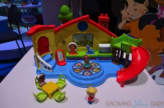 Toy Fair 2014 New For Fisher Price Growing Your Baby