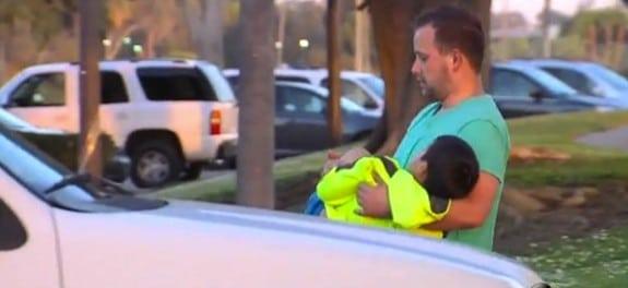 Little boy hurt by razor blades at Bonita Cove Park