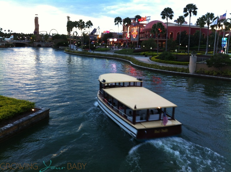Loews Royal Pacific Resort - Water Taxi City Walk