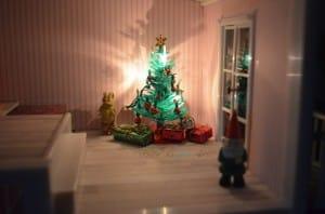 Lundby smaland  - christmas tree set