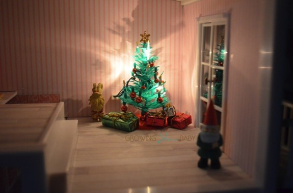 Lundby smaland  - christmas tree set