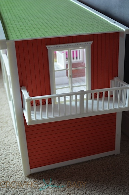 Lundby smaland doll house - balcony