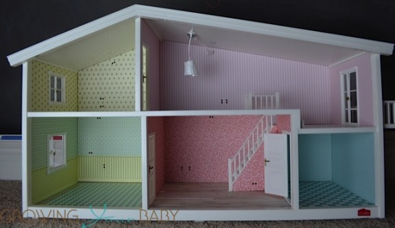 Lundby smaland doll house - empty