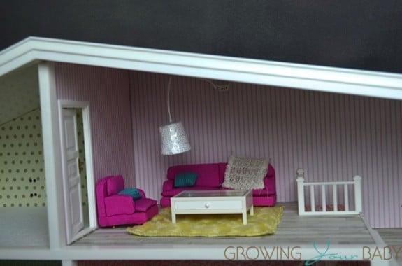 Lundby smaland doll house - sitting room
