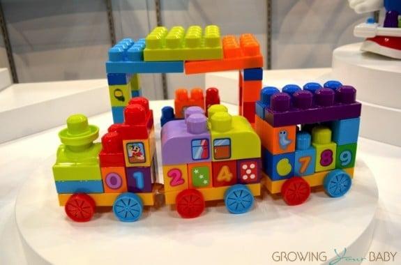 MEGA Bloks First Builders 123 Learning Train