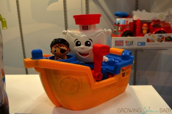 MEGA Bloks First Builders Pirate Ship Pat