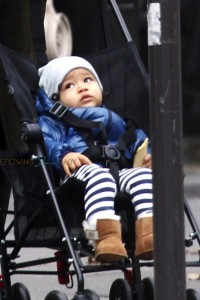Maceo Martinez out for a stroll in Paris