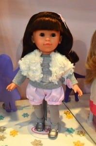 Mademoiselle Corolle Coquette Brunette Doll