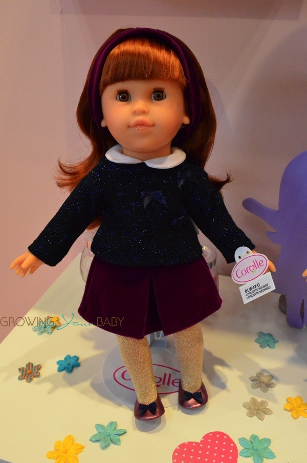 Mademoiselle Corolle Coquette Redhead Doll Growing Your Baby