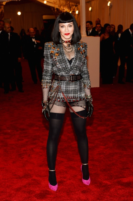 Madonna at the 2013 Met Gala at the Metropolitan Museum of Art