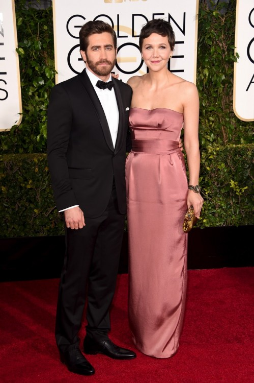 Maggie Gyllenhaal - 72nd annual Golden Globe Awards