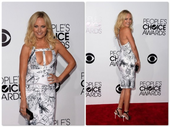 Malin Akerman - 40th annual People's Choice Awards, Los Angeles