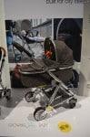 Mamas & Papas  Urbo2 in a grey tweed - bassinet