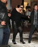 Mariah Carey out in Aspen