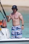Mark Wahlberg vacations in Barbados with his family
