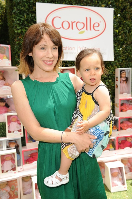 Marla Sokoloff & Elliotte at the Corolle Event in LA - Growing Your Baby