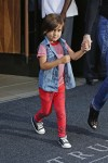 Mason Disick leaves Trump SoHo hotel in NYC
