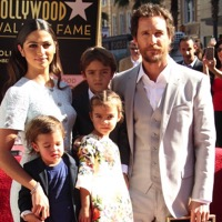 Matthew McConaughey Celebrates His Walk of Fame Star With His Family!