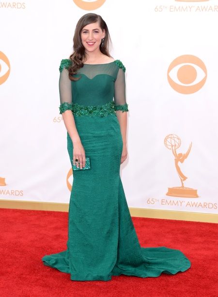 Mayim Bialik - 65th annual Primetime Emmy Awards