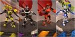 Mega Bloks Kapow Battling Blok Bots