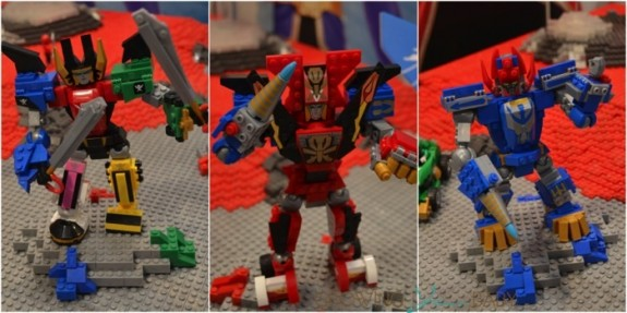 Mega Bloks Power Rangers Megazords