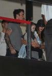 Megan Fox and David Austin Green at LAX with son Noah Shannon