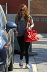 Megan Fox out with her son Noah at the doctors