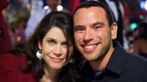 Melissa Carleton and husband Brian Lande