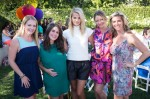 Melissa Joan Hart, Soleil Moon Frye, Kelly Sawyer, Rebecca Gayheart and Jane Buckingham at Soleil's Book release party