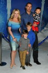 Melissa Joan Hart with husband Mark Wilkerson and boys Tucker, Braydon and Mason