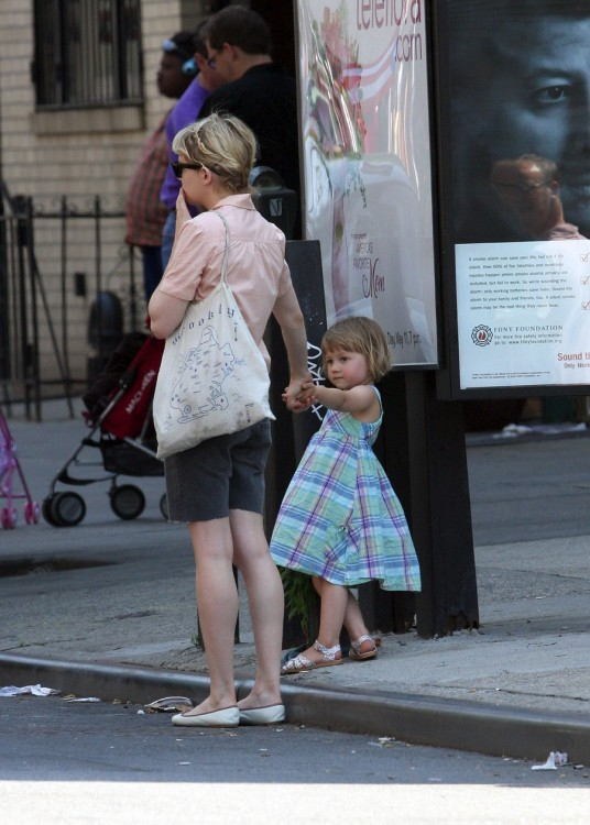 Michelle Williams and her daughter Matilda Rose spotted out and about in Brooklyn, New York