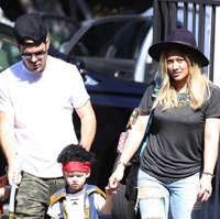Hilary Duff and Ex-husband Mike Comrie Start Halloween Early With Their Son!