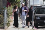 Mila Kunis & Ashton Kutcher out in LA