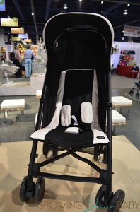 Mima Bo Stroller with white seat liner