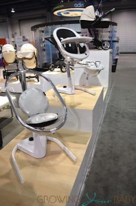 Mima Moon Highchair in stages