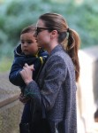 Miranda Kerr out in NYC with son Flynn