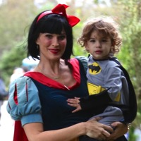 Celebrity Families Hit The Street For Halloween!
