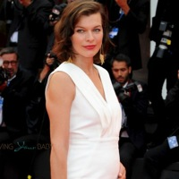 Mom-to-be Milla Jovovich Shows Off Her Growing Belly in Cannes!