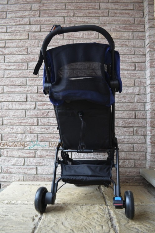 Mountain Buggy Nano - back of stroller